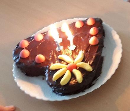 Cœur en chocolat