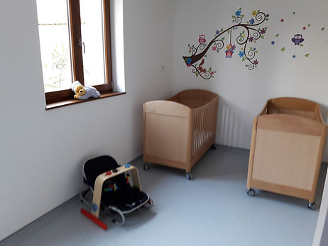 """Photo du dortoir des """"petits"""""""