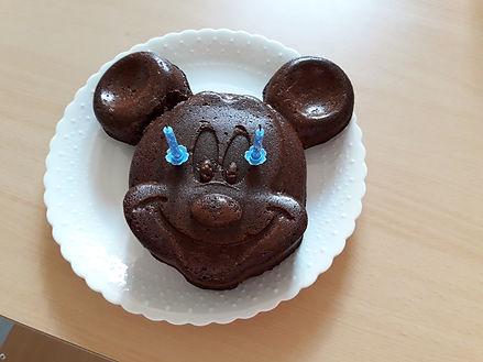 Tête de Mickey en chocolat