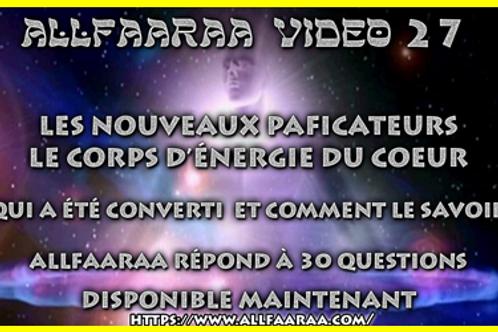 Vidéo#27 : LES NOUVEAUX PACIFICATEURS