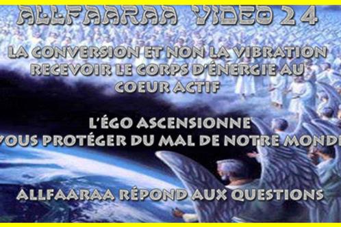 Vidéo#24: La conversion et non la vibration