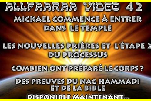 Vidéo#42 : Mickael commence à entrer dans le Temple
