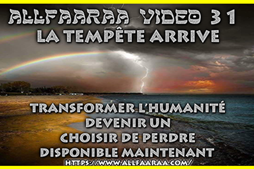 Vidéo#31 : La tempête arrive