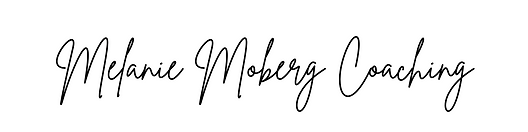 Melanie Moberg Coaching - BW - Words only - September 2021.png