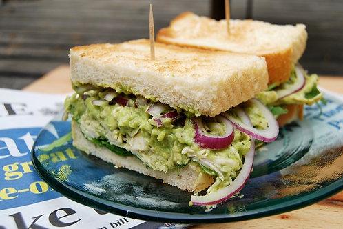 Chicken Avo Sandwich