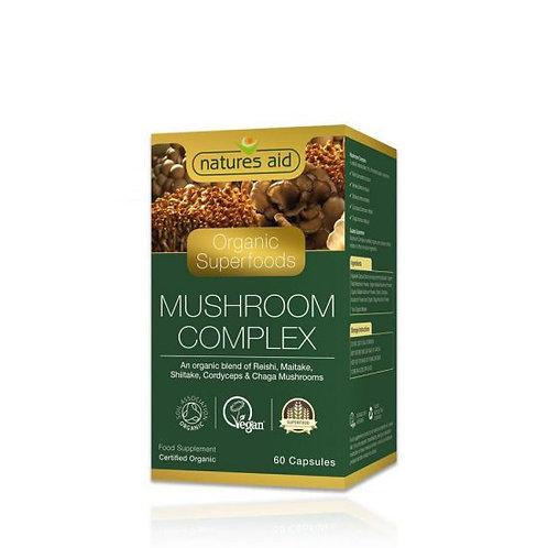 Organic Mushroom Complex Capsules