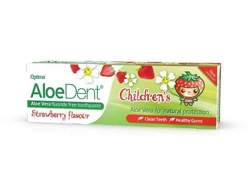 AloeDent Children's Flouride Free Toothpaste