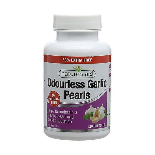 Odourless Garlic Pearls
