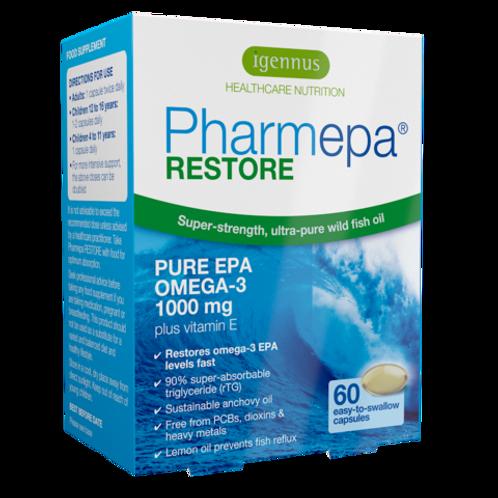 Pharmepa Restore - Pure EPA fish oil, 1000mg EPA