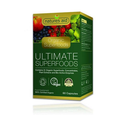 Organic Ultimate Superfoods Capsules