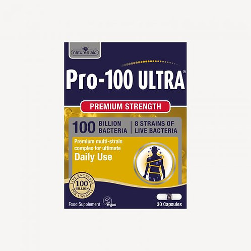 Pro-100 Ultra® Probiotics (100 Billion Bacteria)