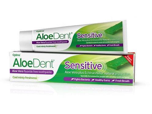 AloeDent Sensitive Flouride Free Toothpaste
