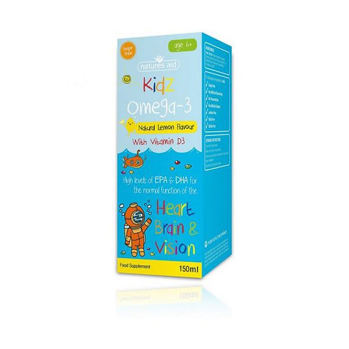 Kidz Omega 3 for children 6+