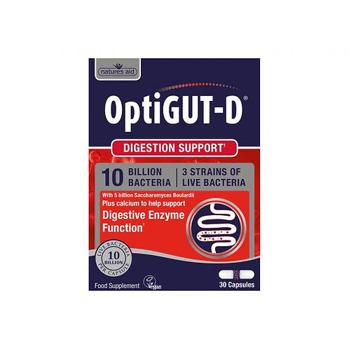 OptiGUT-D® Probiotics (10 Billion Bacteria)