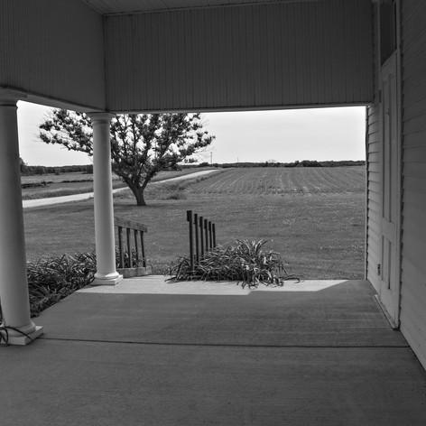 Lone Tree School Porch