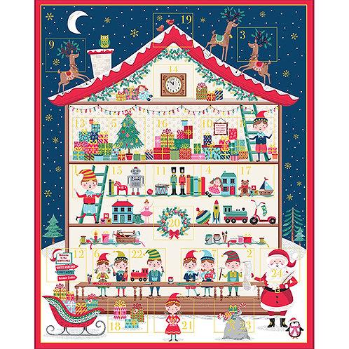 Santas Workshop Advent Calendar-Panel 65