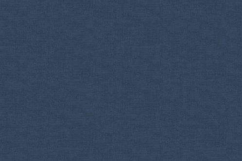 Makower Linen Texture Bluestone