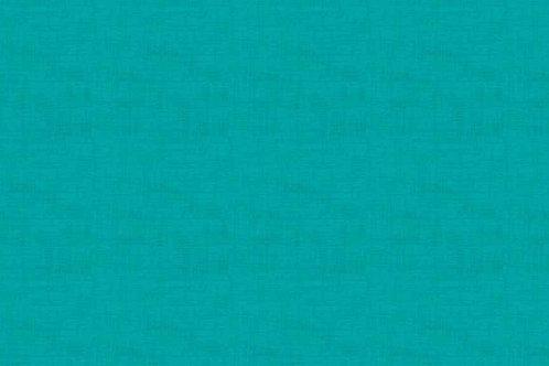Makower Linen Texture Turquoise