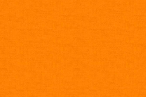 Makower Linen Texture Orange