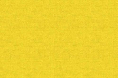 Makower Linen Texture Sunflower