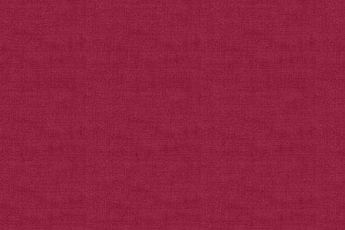Makower Linen Texture Burgundy