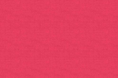 Makower Linen Texture Fuschia