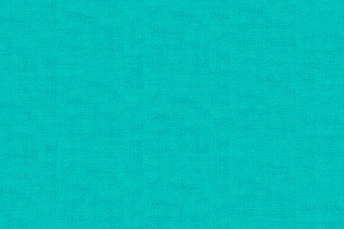 Makower Linen Texture Aquamarine