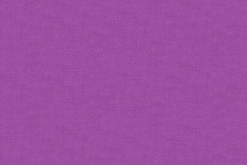 Makower Linen Texture Hyacinth