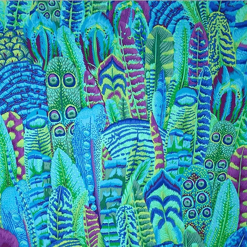 Kaffe Fassett Feathers/Green