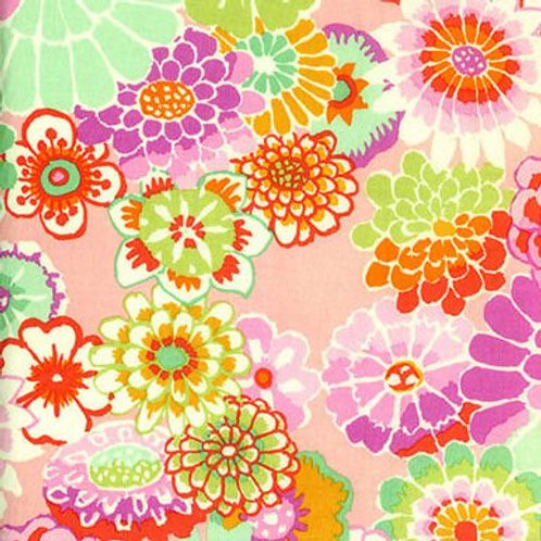 Kaffe Fassett Asian Circles/Pink