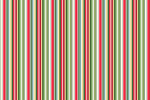 Yuletide Stripe co-ordinating fabric CT118