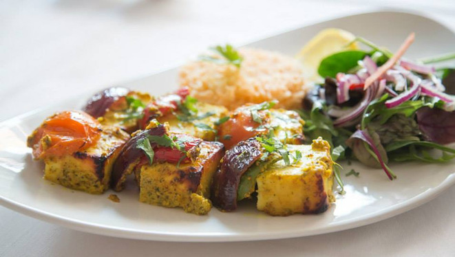 Calcutta Club Paneer Shashlik
