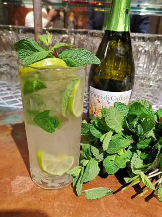 Mojito with a spike
