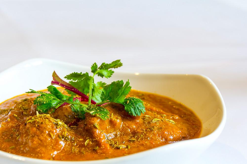 Dhai Wala Gosht lamb curry