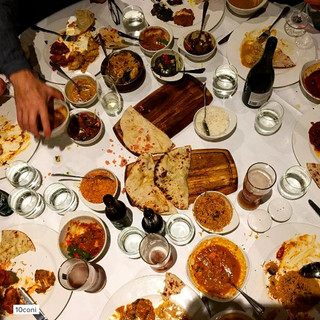 Table of indian food