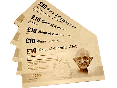 Bank of Calcutta £10 note