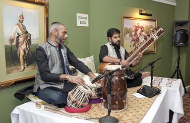 Musicians in the calcutta club