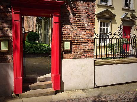 World Service Restaurant Nottingham Red Door