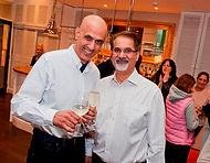 John & Barry, Owners of nottinghams best indian restaurant