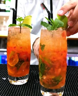 Calcutta Club Strawberry Mojito, the perfect cocktail