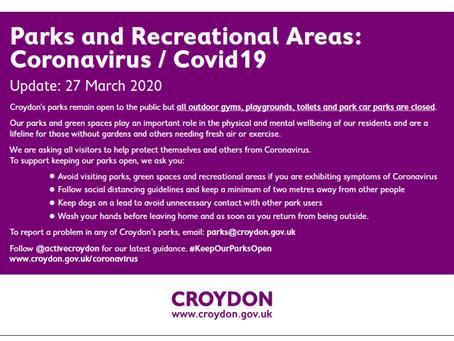 COVID19 and Biggin Wood Park