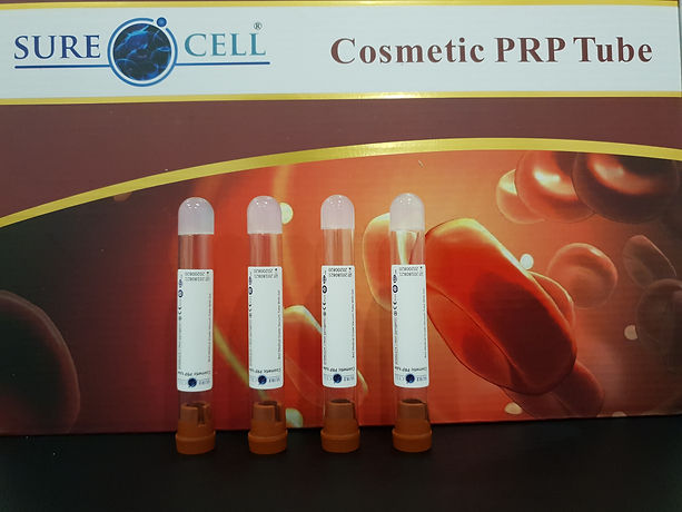 PRP Cosmetic tubes