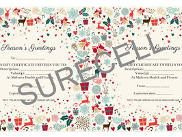 Gift vouchers available for purchase