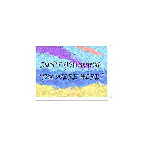 Wish Sticker