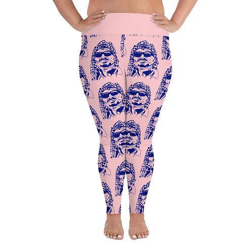 Yassar Arapants Plus Size Leggings (Pale Pink)e