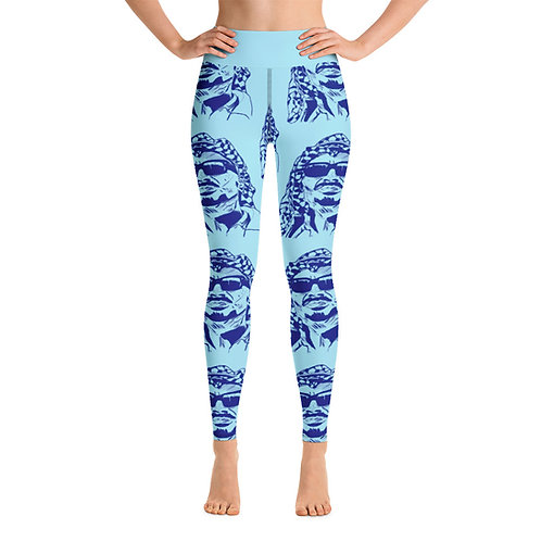 Yasser Arapants Yoga Leggings (Pale Blue)