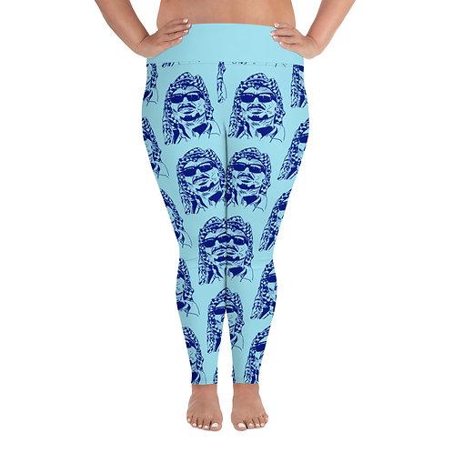Yasser Arapants Plus Size Leggings (Pale Blue)