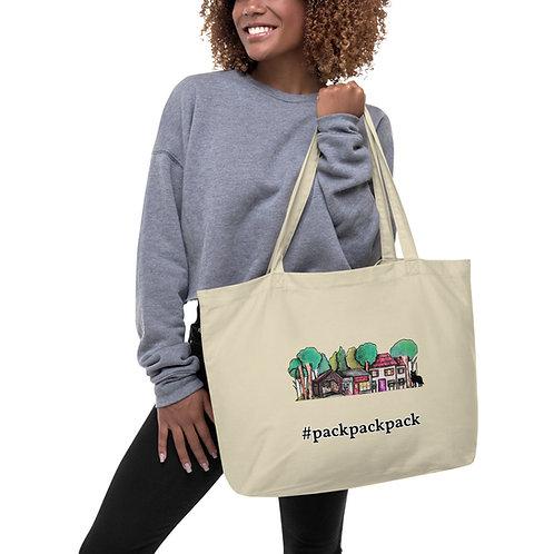Green Creek Large organic tote bag