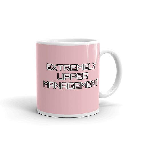 Extremely Upper Management Pale Pink Mug