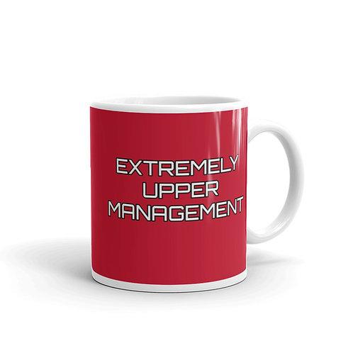 Extremely Upper Management Red Mug